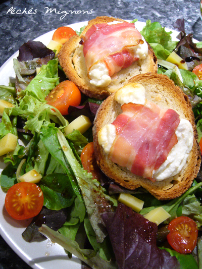Salade, fromage