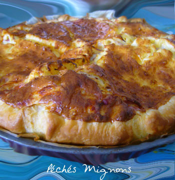 Mozzarella, Tartes salées, Lardons, Rapide,