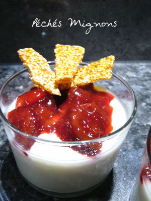 Fromage blanc, Miel, Fruits,