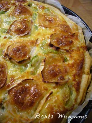 Tartes salées, Courgette, Fromage,