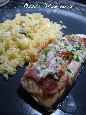 Saumon, Pancetta, Légère