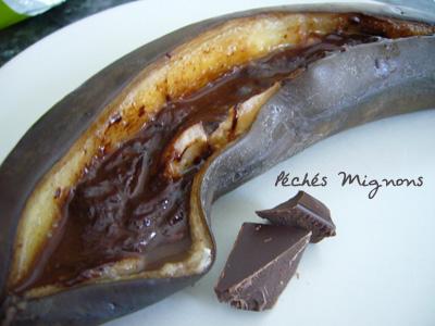 Rapide, Banane, Chocolat