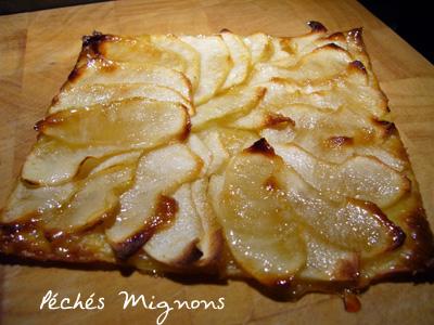 Rapide, Pommes, Tartes sucrées, Pâte feuilletée