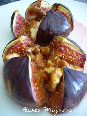 Figues, Miel, Rapide, Légère, Fruits secs, Noix, Grec