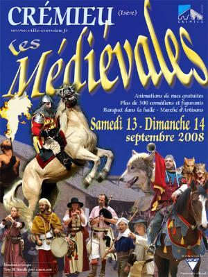 affiche les medievales 2008