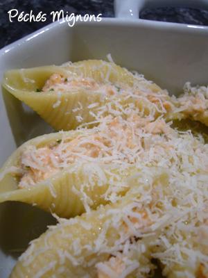 Saumon, Pâtes, Fromage, Boursin, Parmesan, Persil, Herbes