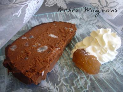 Chocolat noir, Chocolat, Marrons, crème de marron, Alcool, Baileys, Beurre, T.Deseine
