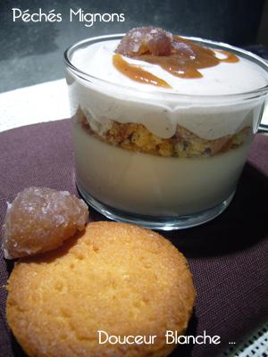 Marrons, crème de marron, Crème, Biscuits, Verrines sucrées, Verrines,
