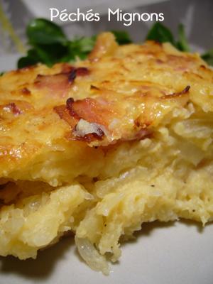 Pommes de terre, Lardons, Lituanie, Oignons, Lait concentré,