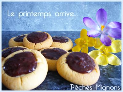 Biscuits, Beurre, Sucre, Oeufs, Confiture, Poudre amande, Farine,