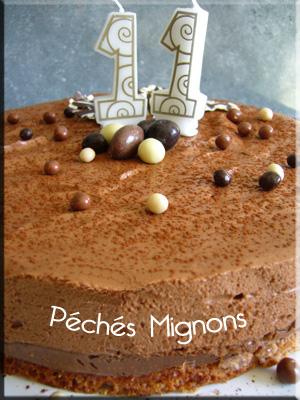 Cacao, Chocolat, Chocolat noir, Crème, Gavottes, Oeufs, Poudre amande, Pralin, Sucre, Pralinoise