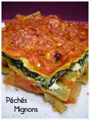 Blettes, Lasagne, Tomates, Fromage, Ricotta, Pecorino, Facile, Végétarien