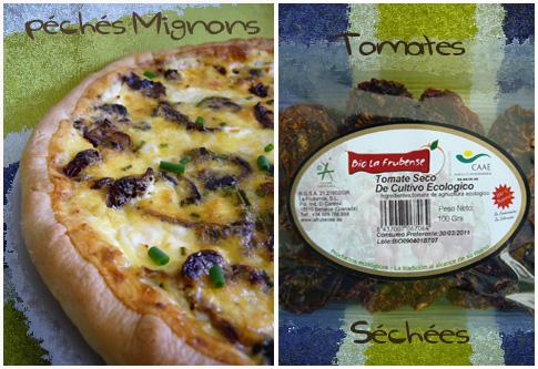 Tartes salées, Tomates séchées, Olives, Oeufs, Pâte brisée, Fromage, Chèvre,