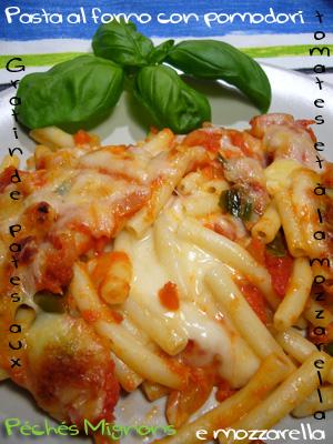 J.Oliver, Pâtes, Tomates, Fromage, Mozzarella, Parmesan, Basilic, Piments, Facile,