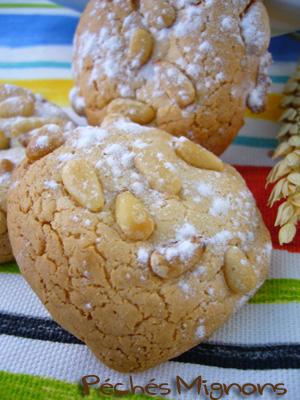 pignoli ou petits biscuits aux pignons p 233 ch 233 s mignons