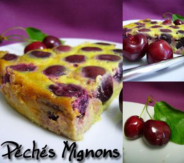 Cerises, Clafoutis, Pâte de pistache, Oeufs, Crème, Lait, Sucre, Facile, Beurre,