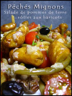 Pommes de terre, Haricots, Haricots verts, Haricots beurre, Tomates, Olives, Pommes de terre, Herbes, Ciboulette, Facile, Entrée froide,