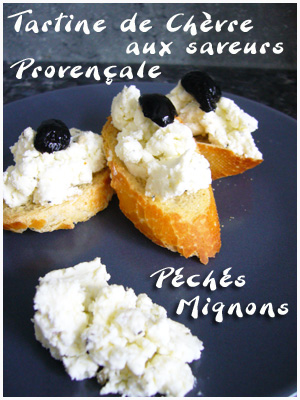 Chèvre, Fromage, Ail, Olives, Basilic, Facile, Rapide,