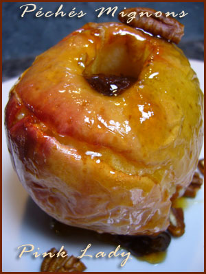Pommes, Miel, Fruits secs, Noix, Noix pécan, Raisins secs, Facile, Rapide,