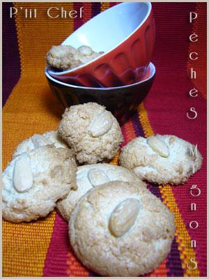 Amandes, Biscuits, Facile, Fruits secs