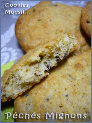 Biscuits, Muesli, Oeufs, Farine, Sucre roux, Sucre muscovado, Beurre, Facile,