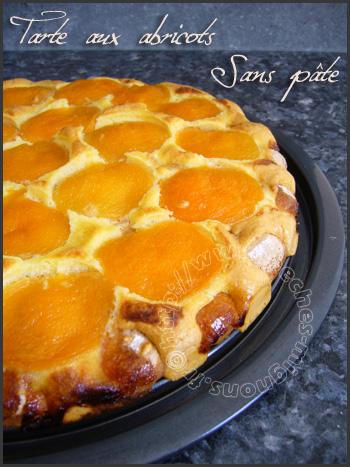 tarte aux abricots sans pâte | péchés mignons