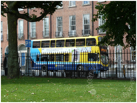 Bus Mountjoy square