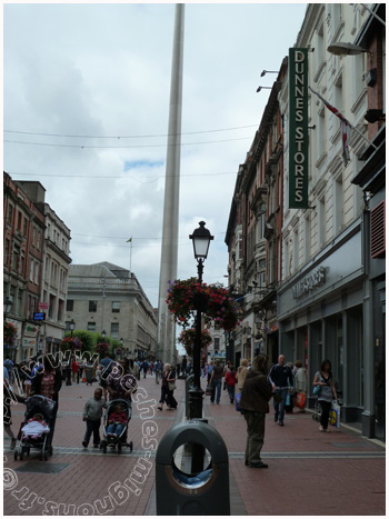 The spire sur Henry Street