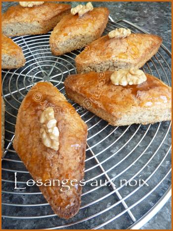 Losanges aux noix