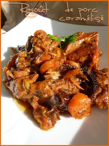 Ragoût de porc caramelisé