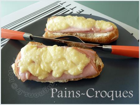Pains - Croques