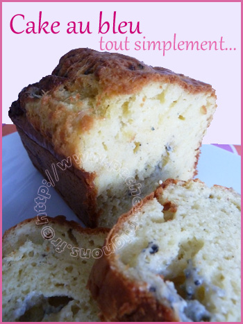 cake au bleu