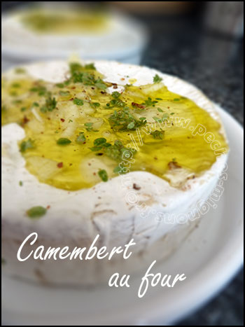 camembert au four p ch s mignons. Black Bedroom Furniture Sets. Home Design Ideas
