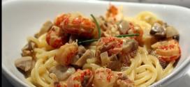 Spaghetti aux écrevisses