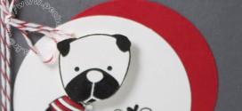 Petit chien… (Carte Scrap #420)