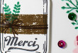 Merci… Carte Scrap #604