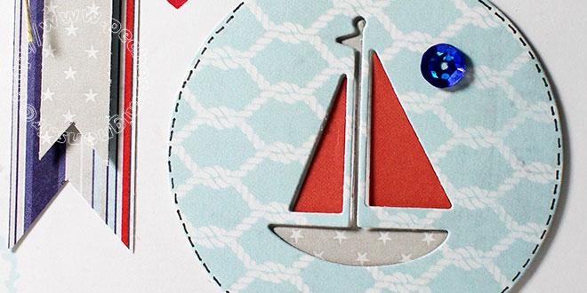 Carte Scrap #574