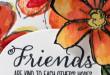 Friends… Carte Scrap #610