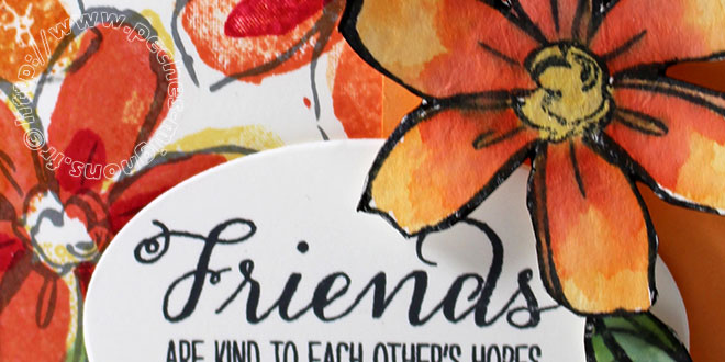 Friends… Carte Scrap #610
